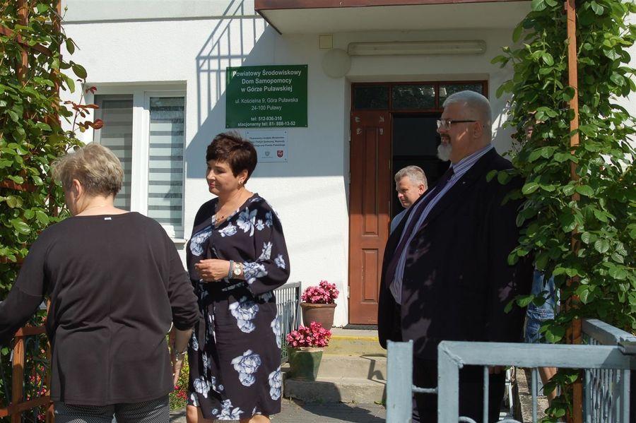 Odwiedziny w Powiatowym Środowiskowym Domu Samopomocy w Górze Puławskiej