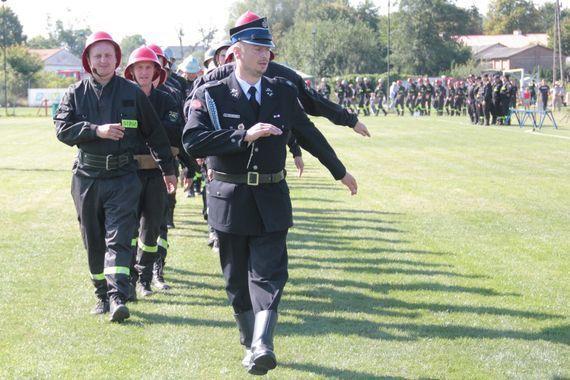 Powiatowe Zawody Sportowo-Pożarnicze OSP RP w Kurowie cz. 1