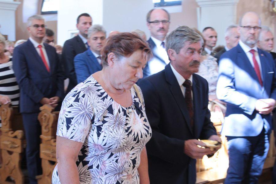 Dożynki Powiatowe Kurów 2019 - Msza św. w intencji rolników