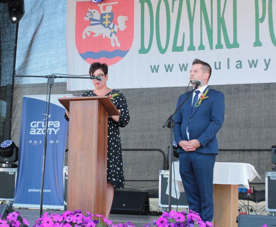 Dożynki Powiatowe Kurów 2019 - cz. 1 otwarcie, występy, nagrody