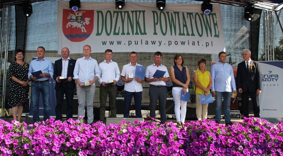 Dożynki Powiatowe Kurów 2019 - cz. 2 nagrody, występy, konkursy