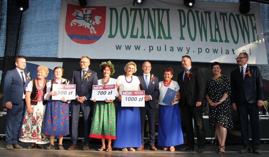 Dożynki Powiatowe Kurów 2019 - cz. 3 nagrody, występy, konkursy