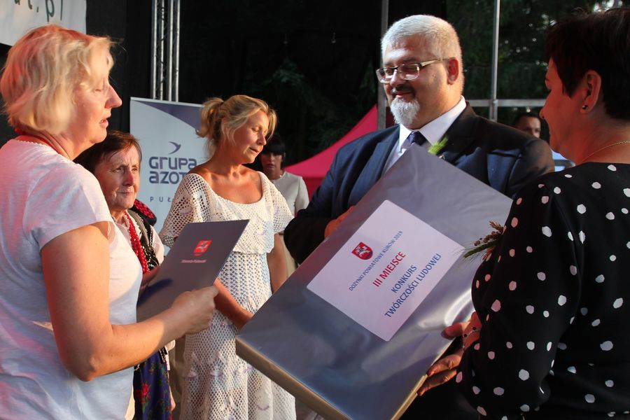Dożynki Powiatowe Kurów 2019 - cz. 5 nagrody, występy, konkursy