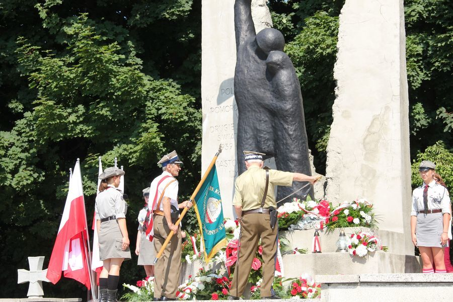Uroczystości 80. rocznicy wybuchu II wojny światowej w Puławach