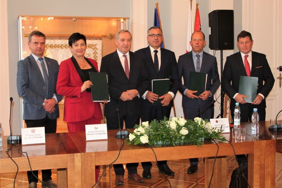Inauguracja projektu kompleksowej termomodernizacji SPZOZ w Puławach