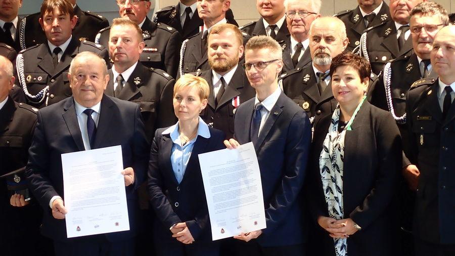 Grupa Azoty Puławy wspólnie z OSP zadbają o bezpieczeństwo mieszkańców