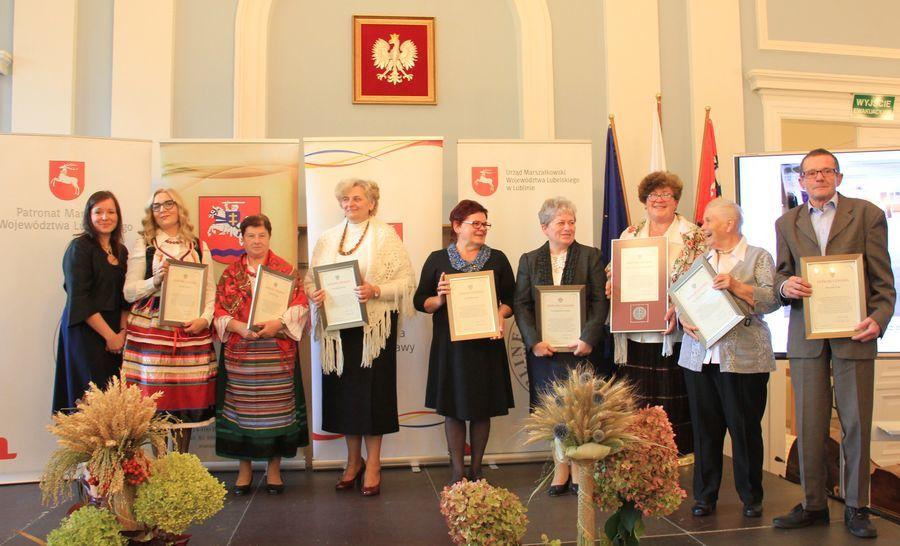 Jubileusz 60-lecia Klubu Twórców Ludowych w Puławach, wręczenie nagród Starosty Puławskiego w dziedzinie kultury cz. 1