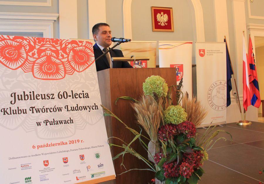Jubileusz 60-lecia Klubu Twórców Ludowych w Puławach, wręczenie nagród Starosty Puławskiego w dziedzinie kultury cz. 2
