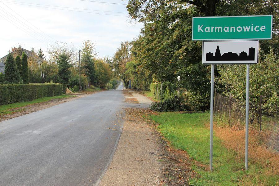 Remont drogi powiatowej nr 2534L zakończony