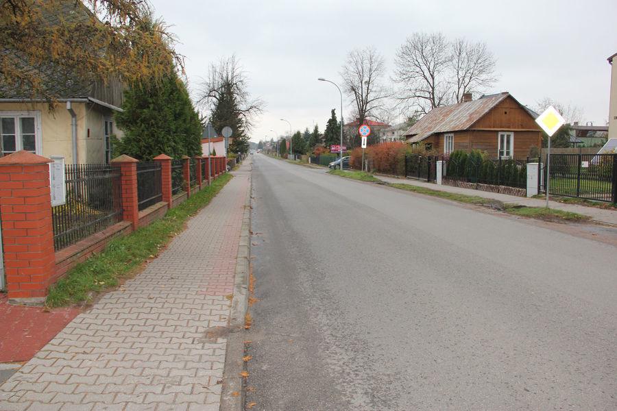Przekazanie placów budowy dróg powiatowych
