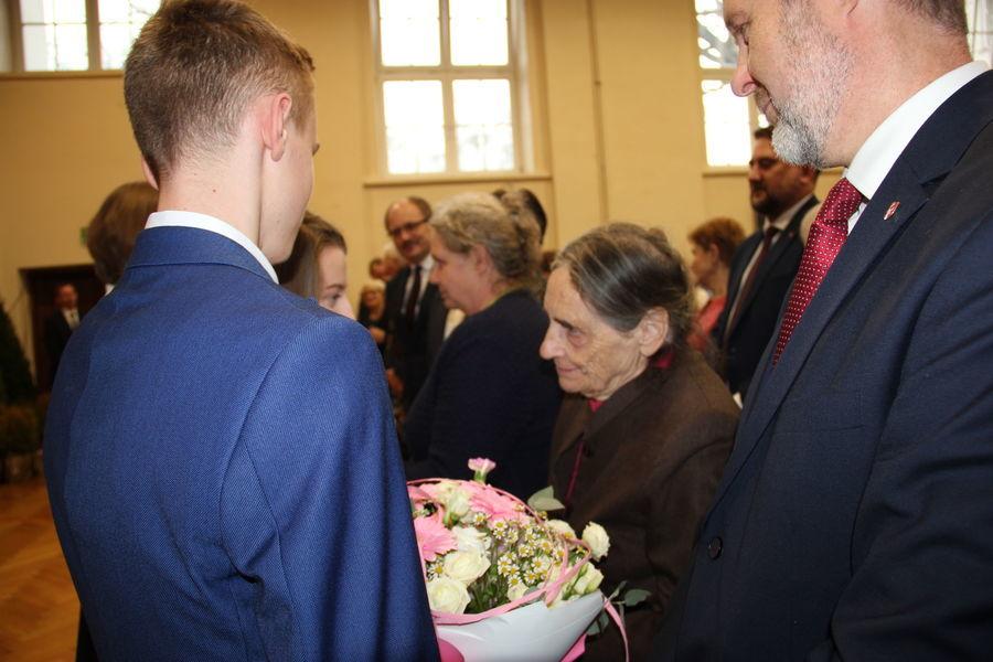 Uroczystość Dnia Patrona I LO im. księcia Adama Jerzego Czartoryskiego w Puławach w dniu 29 listopada 2019 r.(cz. 2)