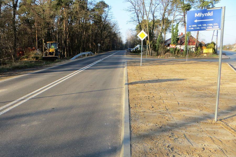 Zakończono modernizację drogi powiatowej nr 2505L od Młynek do węzła