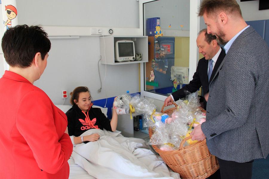 Wyjątkowe Mikołajki w puławskim szpitalu