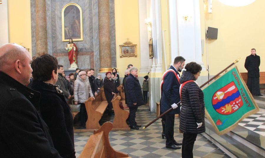 Poświęcenie pomnika na mogile zbiorowej żołnierzy z 9. Pułku Piechoty Legionów z Zamościa oraz uczczenie pamięci Żołnierzy Niezłomnych w Górze Puławskiej