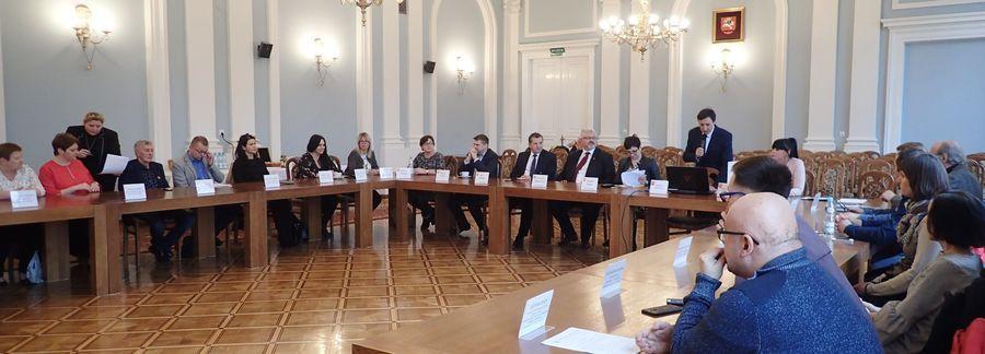 Zebranie przedstawicieli organizacji pozarządowych w sprawie wyborów do Powiatowej Rady Działalności