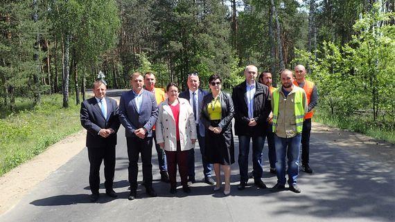 Zakończono remont drogi powiatowej z Gołębia do Niebrzegowa