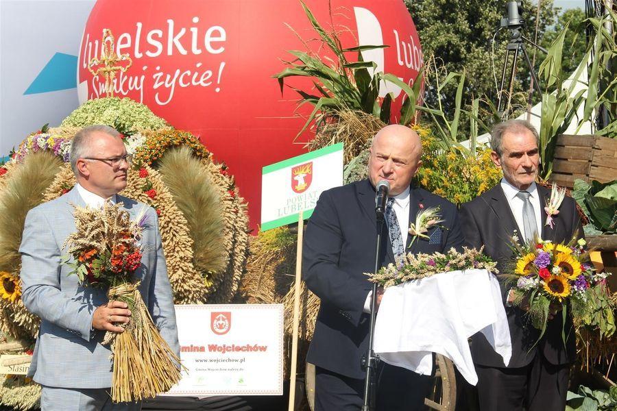 Marszałek województwa, starosta lubelski i burmistrz Bełżyc