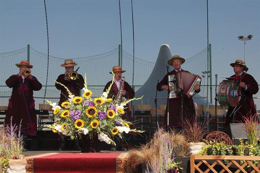Kapela na scenie
