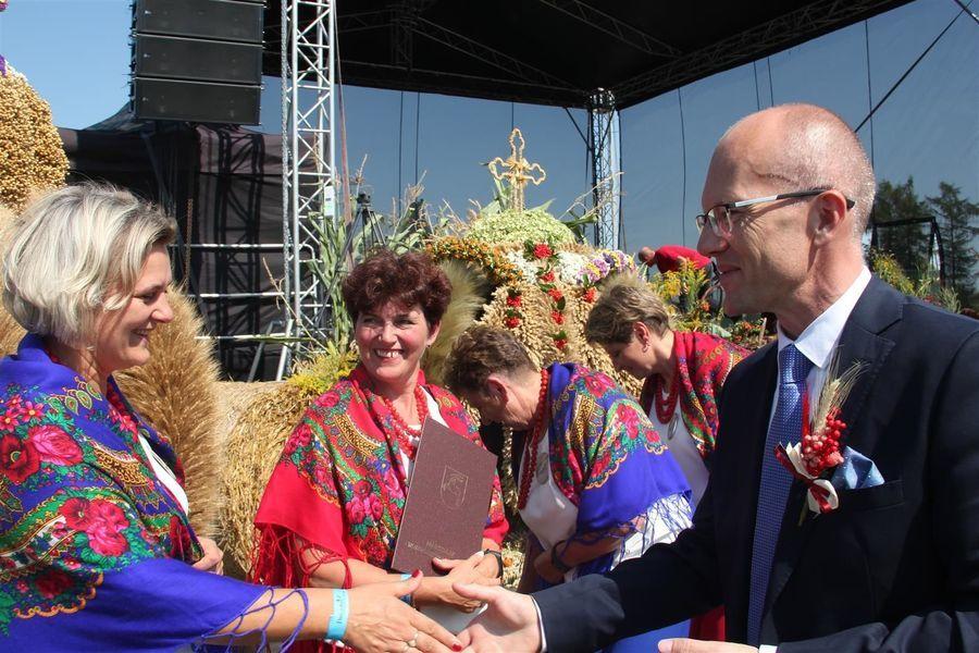 Delegacja z powiatu puławskiego z wicemarszałkiem
