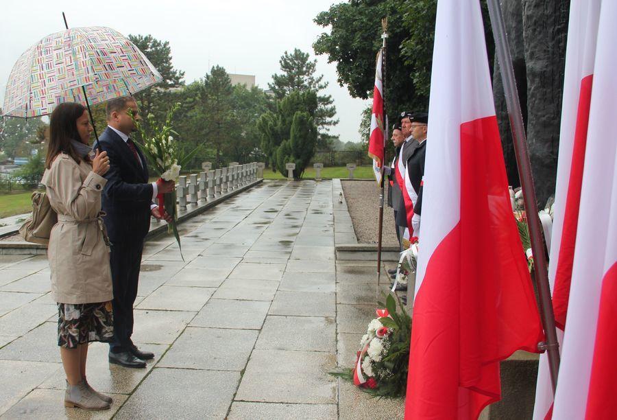 Dyrektor I LO w Puławach wraz z osobą towarzyszącą