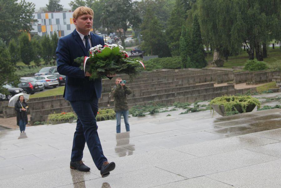 Wiązanka od przedstawiciela posła na Sejm RP Krzysztofa Szulowskiego
