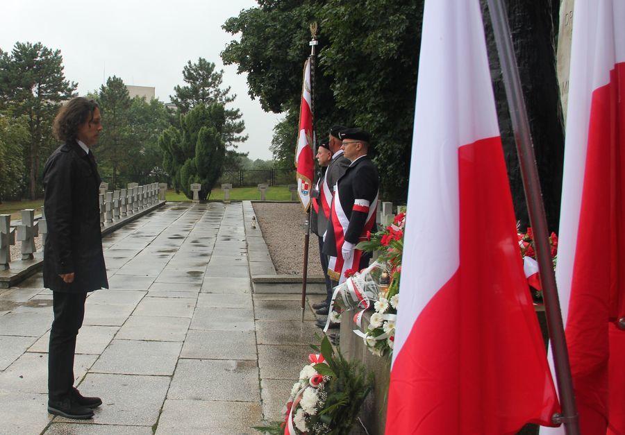 Hołd od radnego miasta Puławy M. Cytryńskiego