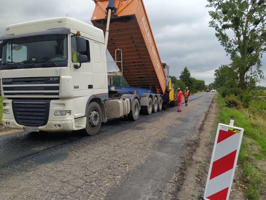 Przebudowa drogi powiatowej nr 2523L Janowiec - Ławeczko Stare