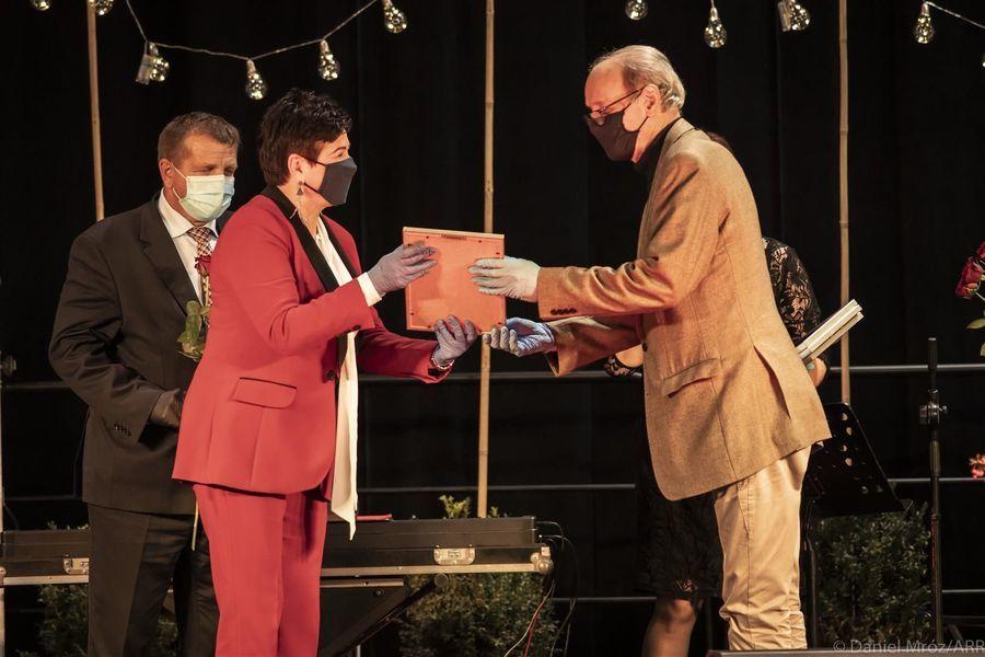 Laureat Nagrody Starosty Puławskiego w dziedzinie kultury Bogusław Gałęzowski