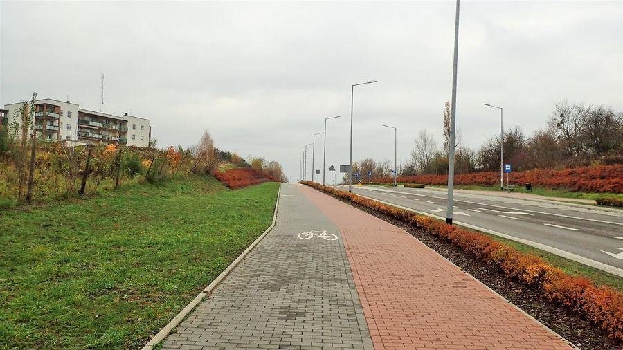 ul. Ceglana w Puławach