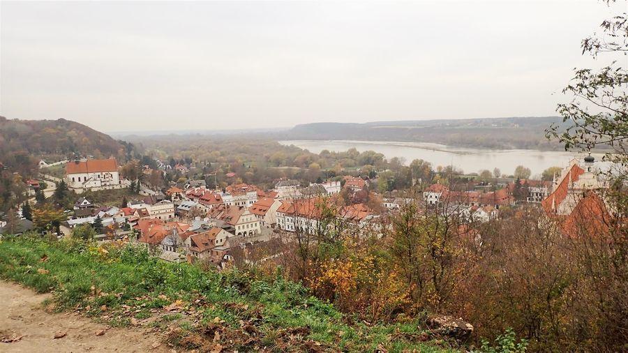 Panorama z Góry Trzech Krzyży w Kazimierzu Dolnym