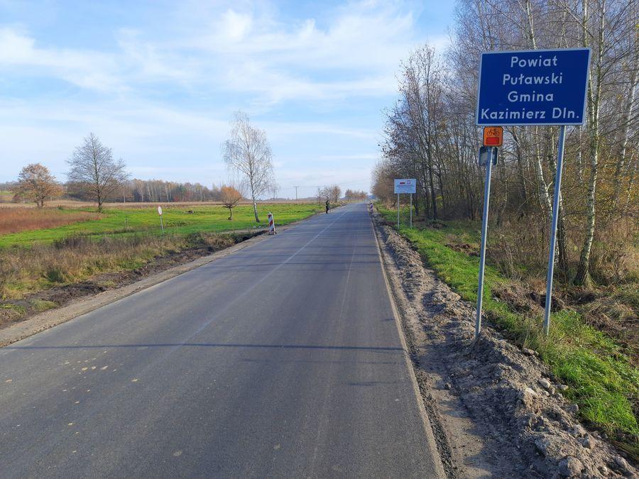 Przebudowa drogi powiatowej nr 2547L.