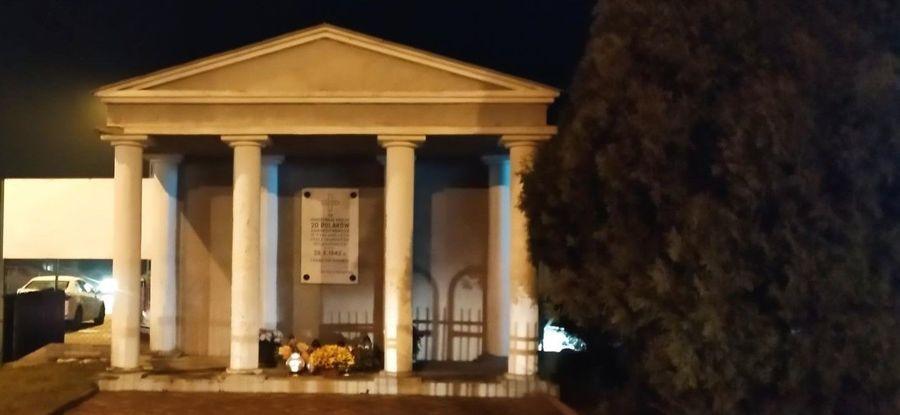 Pomnik pomordowanych w II wojnie Światowej, Góra Puławska
