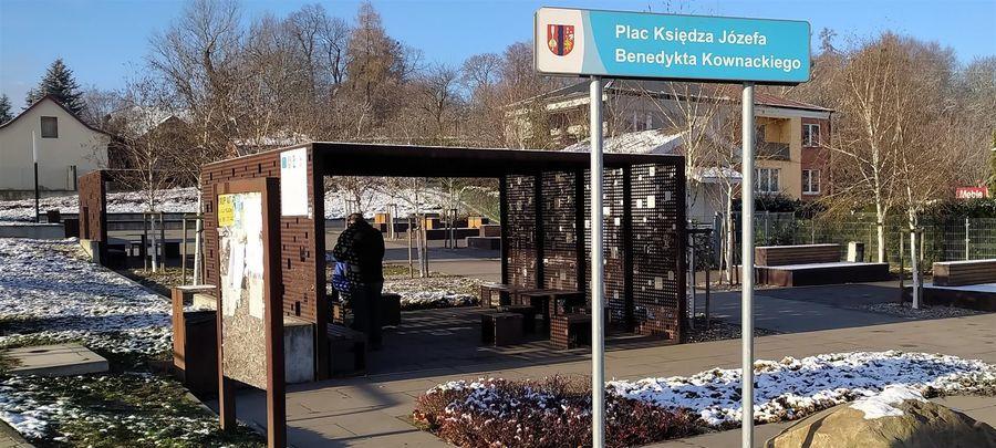 Plac ks. Kownackiego w Górze Puławskiej