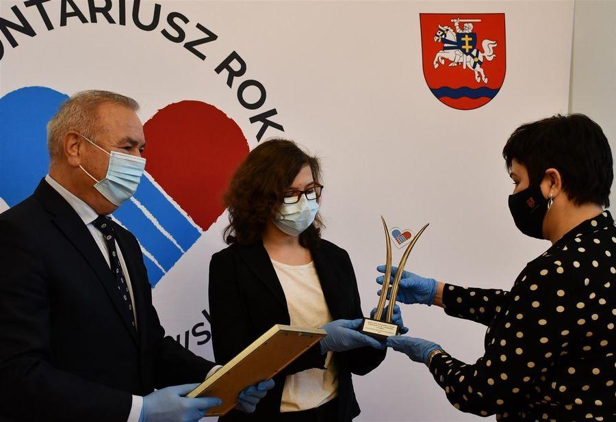 Nagroda dla Szkolnego Klubu Wolontariatu przy Szkole Podstawowej w Gołębiu
