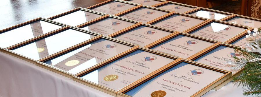 Dyplomy Wolontariusz Roku Powiatu Puławskiego