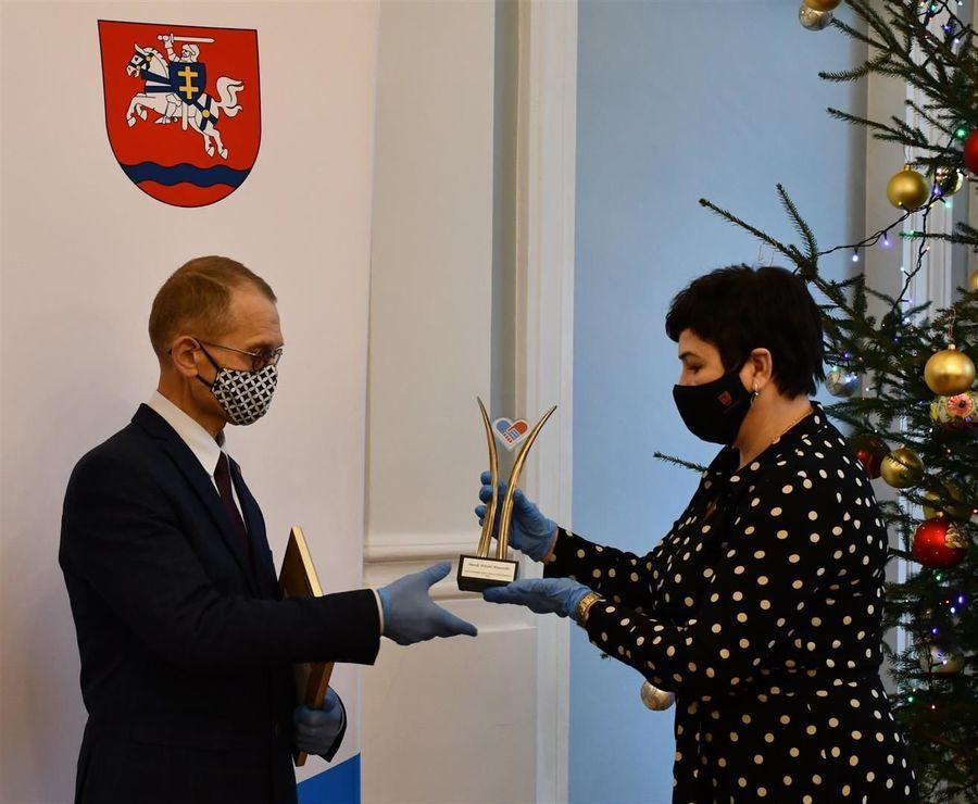 Nagroda dla Marka Wawerskiego