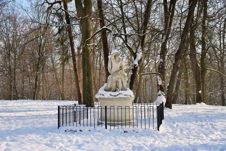 Rzeźba Tankred i Klorynda