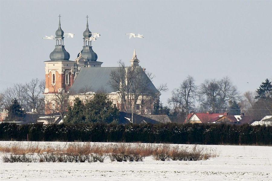 Kościół pw. św. Floriana i św. Katarzyny w Gołębiu
