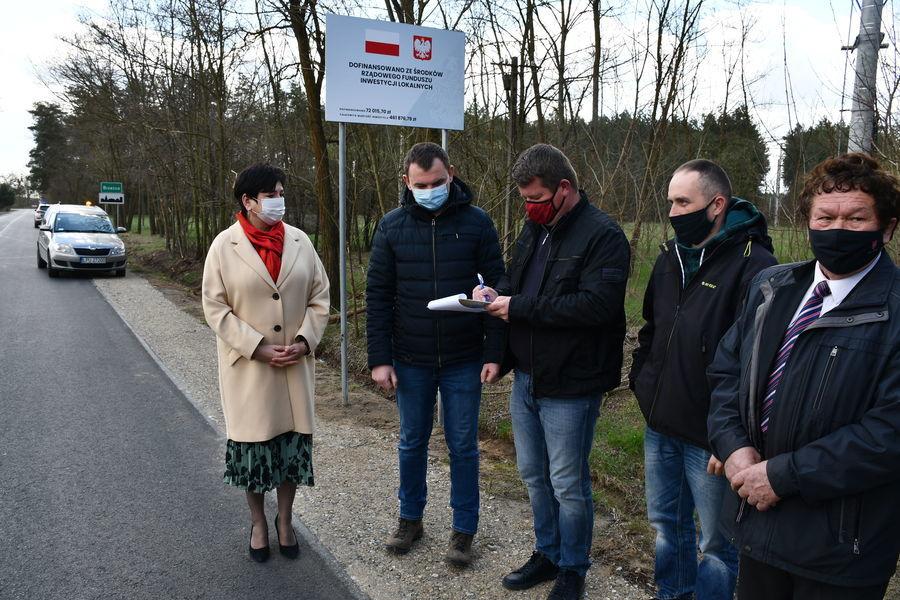 Przekazanie drogi w msc Brześce