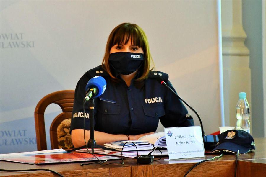 Oficer prasowy Ewa Rejn-Kozak