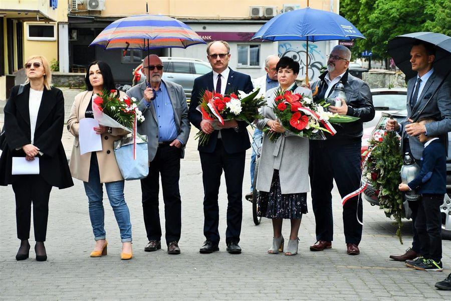 Delegacja przedstawicieli weładz krajowych i samorządowych