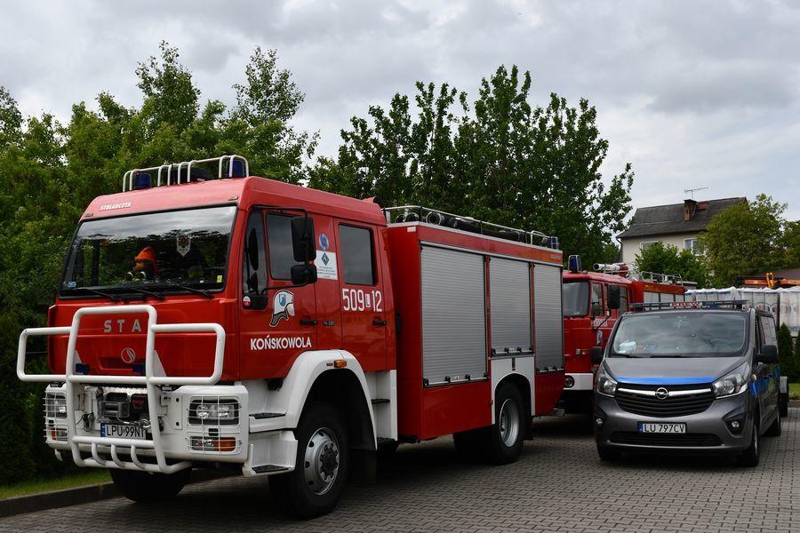 Wóz bojowy OSP Końskowola