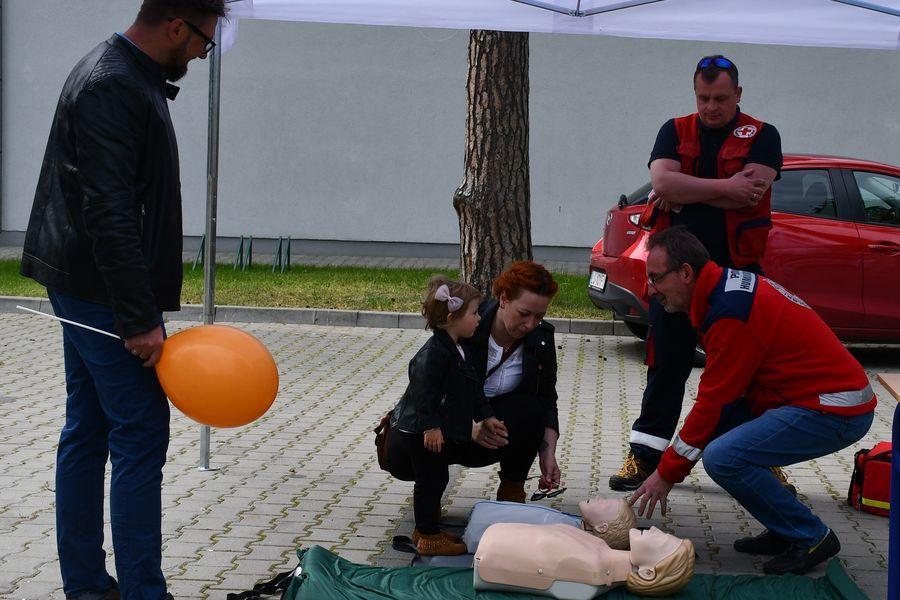 Nauka udzielania pierwszej pomocy