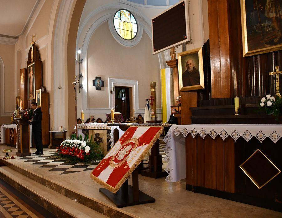 Msza Święta w kościele pw. Matki Bożej Różańcowej
