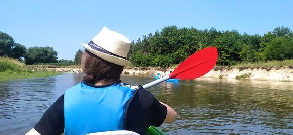 Spływ kajakowy rzeką Wieprz