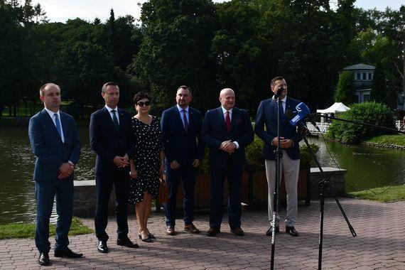Ogłoszenie przetargu na budowę obwodnicy Nałęczowa