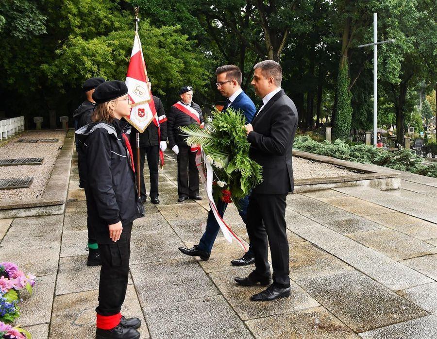 Wiązanka od Prezydenta Puław i Rady Miasta Puławy