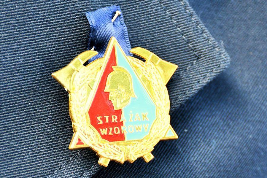 Odznaka wzorowy strażak