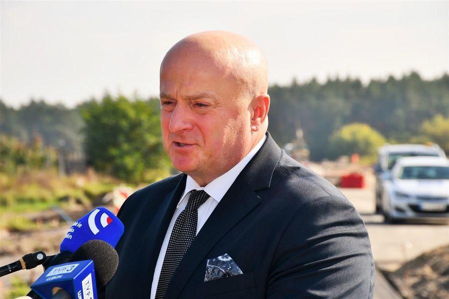 Marszalek województwa lubelskiego Jarosław Stawiarski