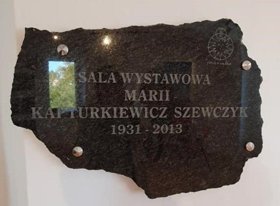 Sala wystawowa Marii Kapturkiewicz-Szewczyk